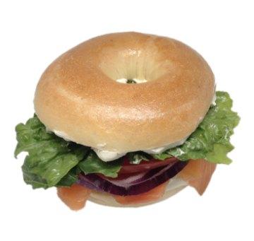 Bagel Lox Sandwich