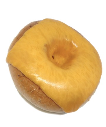 bagel with Cheddar Cheese