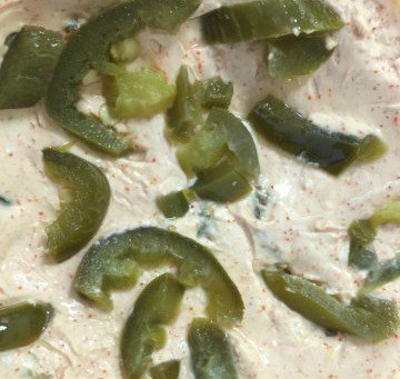 Jalapeno cream cheese