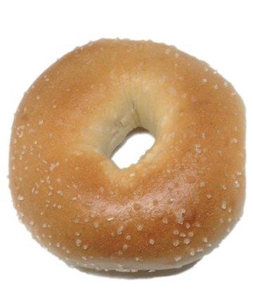 Salted bagel